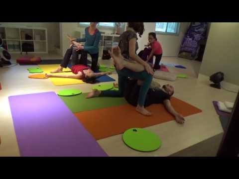 Thai Massage Workshop 2 Taipei May 2017 (Part Two)