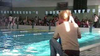 Dille afzwemmen