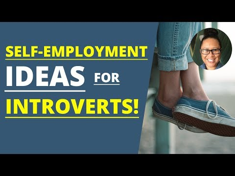 Self Employment Ideas for Introverts