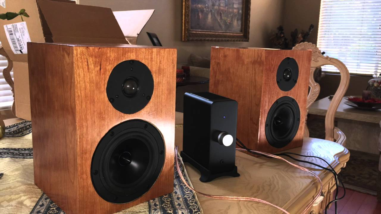 Genial DIY Book Shelf Speakers   YouTube