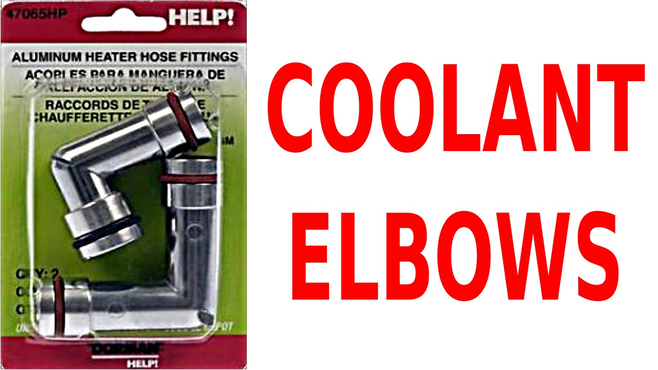 small resolution of replace cooling system fittings fix coolant bypass elbow leaks gm 3800 v6 3 8 l engine 3 8l cars youtube