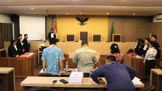 Video Sidang Semu Fakultas Hukum Universitas Indonesia
