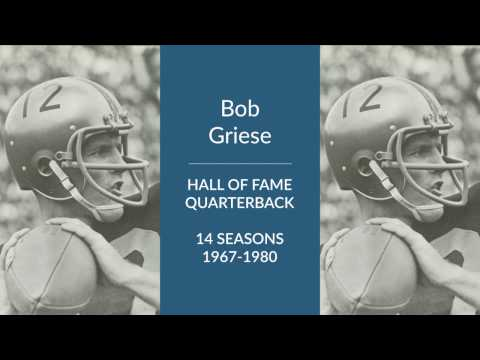 Bob Griese Hall of Fame Football Quarterback