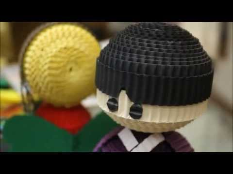 HOW TO MAKE A DOLL FROM KOKORU PAPER