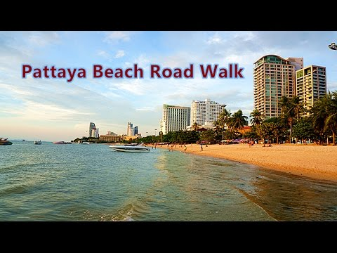 Pattaya Beach Road Walk, Visit Thailand 10