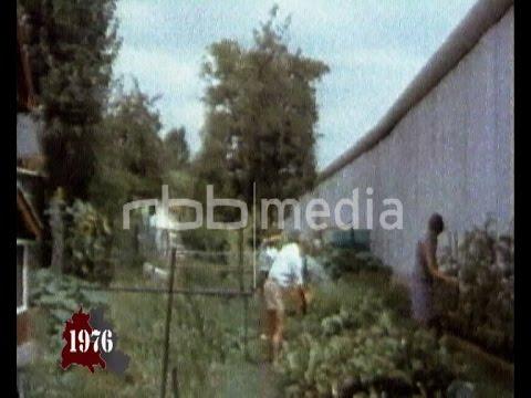Gardening in an exclave Kolonie Fichtewiese 1976