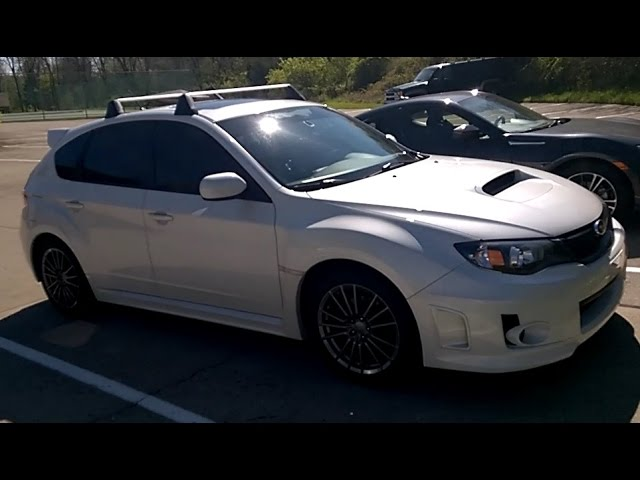 How To Installing Oem Roof Racks On My 2011 Subaru Wrx Youtube