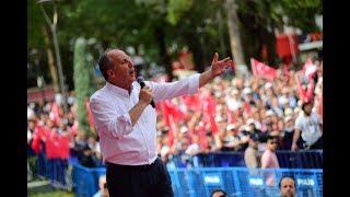 Muharrem İNCE 17 Mayıs 2018 - Amasya Mitingi | HD