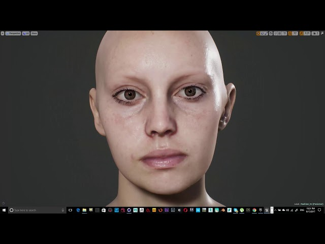 Photorealism Human in Unreal engine