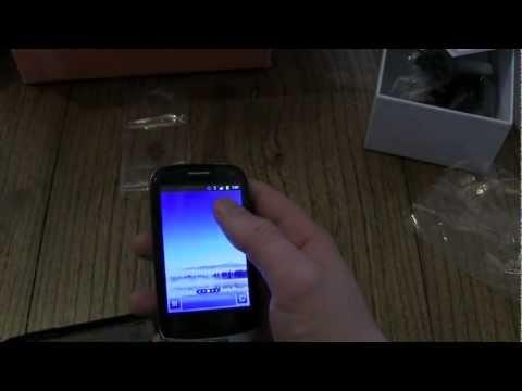 Huawei Ideos X3 einrichten und erster Eindruck