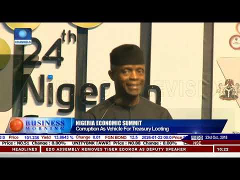 VP Osinbajo Highlights FG's Efforts To Improve Nigeria's Economy |Business Morning|