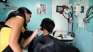 Repeat youtube video Maricel´s boyish haircut
