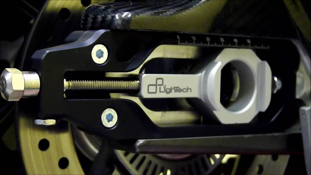 LighTech Chain Adjuster Installation (BMW S1000RR) - YouTube