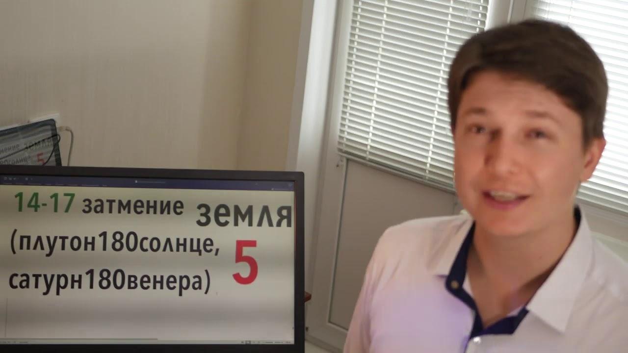 Водолей Гороскоп на июль 2019 Событие 5 Затмение 14-17 июля