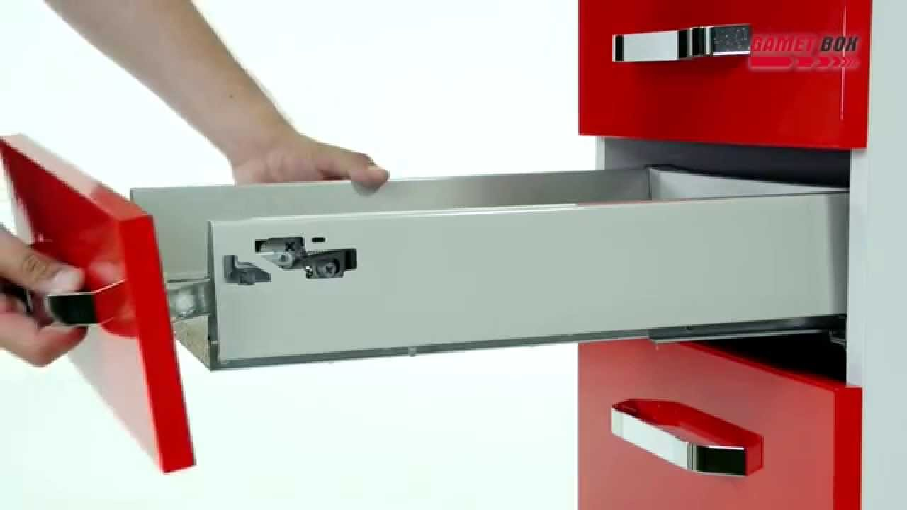 How to assemble the GAMET BOX drawers? - www.gamet.eu - YouTube