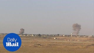 Israel uses missile defense system on border to intercept rockets