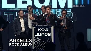 Arkells win Rock Album of the Year | Junos Gala Dinner & Awards 2019