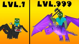Monster School : CROOK vs BOSS Lvl 1 Lvl 999 How to train your dragon