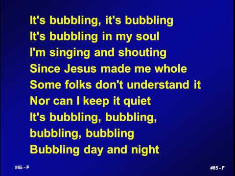 065 - It's bubbling - M