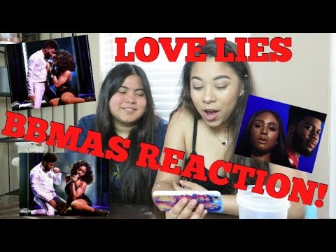My Sister Reacts to NORMANI & KHALID at the BBMAs LOVE LIES