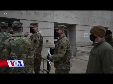 Thủ đô Mỹ siết chặt an ninh cho lễ nhậm chức của ông Biden (VOA)