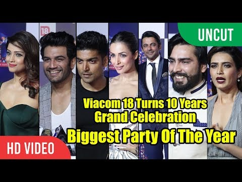 UNCUT - Viacom 18 Celebrating 10 Successful Years | Grand Celebration | Biggest Party Of The Year
