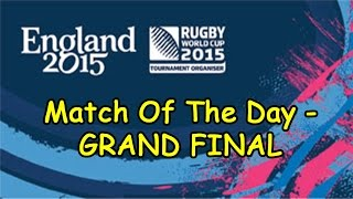 Rugby World Cup 2015 FINAL - New Zealand vs Australia - Rugby Challenge 2