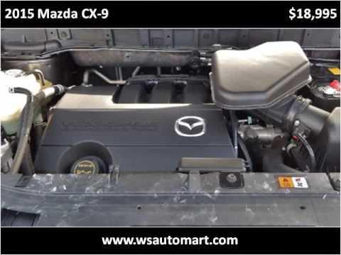 2015 Mazda CX-9 Used Cars St Augustine FL