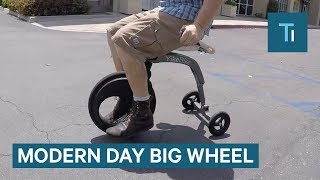 The YikeBike Is Like A Modern-Day Electric Big Wheel
