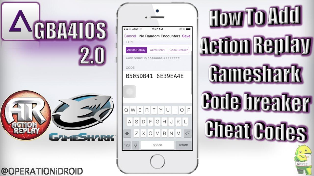 <b>GBA4iOS</b> 2.0: How to Add, Find, &amp; Input <b>Cheats</b> (NO COMPUTER) (NO ...