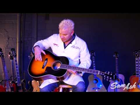 Epiphone AJ-220S Acoustic Guitar at Sam Ash Music