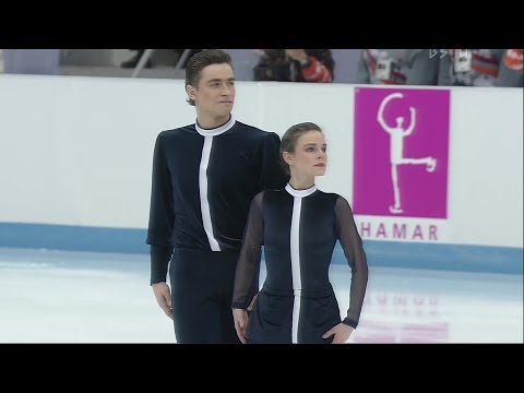"[4K60P] Ekaterina Gordeeva and Sergei Grinkov 1994 Lillehammer Olympic FS ""Moonlight Sonata"""