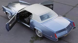 3D Model of Cadillac Eldorado 1968 Review
