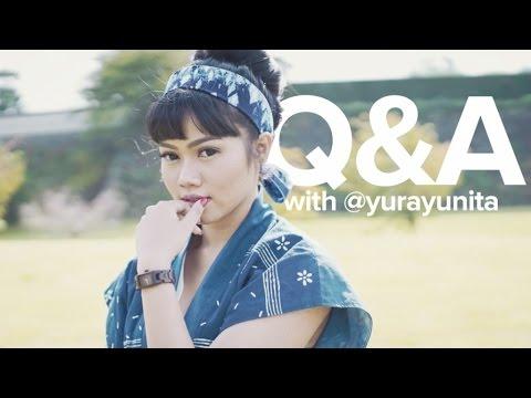 Behind The Scenes Music Video INTUISI - Q&A YURA YUNITA Japan