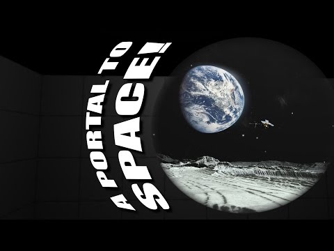 A Portal To Space - Writing A Transparent Portal Shader in Unity