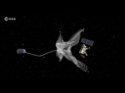 Space debris - efforts to clean up space
