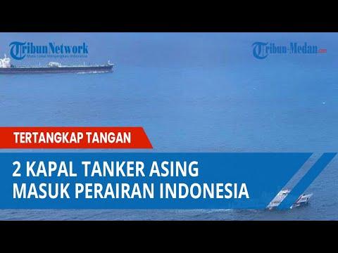 Kapal Tanker Iran dan Panama Tertangkap Tangan Melakukan Transfer Bahan Bakar di Perairan Indonesia