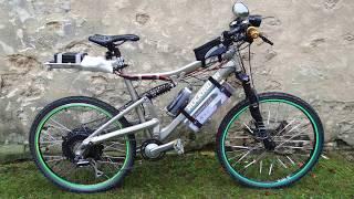 VTT Rockrider 6.3 équipé d'un moteur électrique