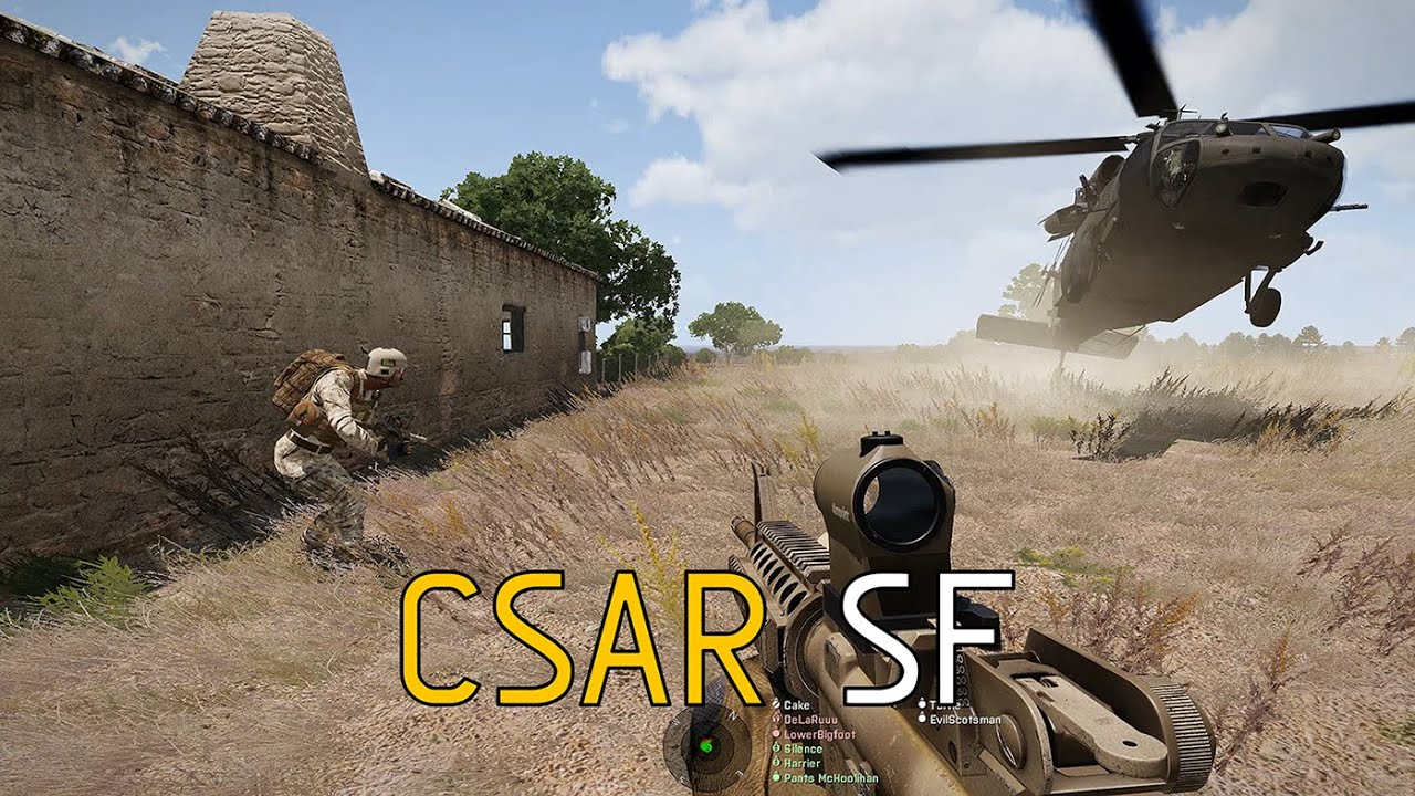 CSAR SF - ShackTac