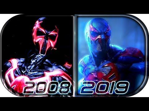 EVOLUTION Of SPIDER-MAN 2099 In Movies Cartoons TV (2008-2019) Spider-Man 2099 Into The Spider-verse