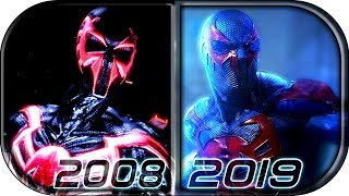 EVOLUTION of SPIDER-MAN 2099 in Movies Cartoons TV (2008-2019) Spider-Man 2099 into the spider-verse