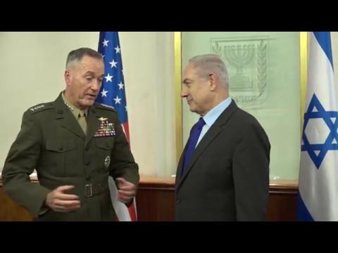 CJCS Dunford meets Israeli PM Netanyahu