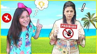 Regras de Conduta para Crianças no PARQUE - Rules of conduct for children
