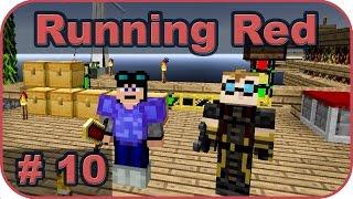 Minecraft : Running Red - #10 - Pierwszy ritual i Krwawy miecz