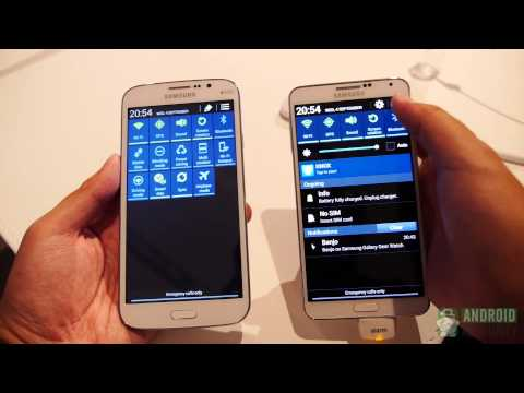 Samsung Galaxy Note 3 vs Galaxy Mega 5.8: Quick Look