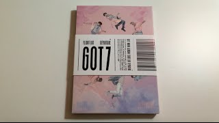 Unboxing GOT7 갓세븐 5th Mini Album Flight Log: Departure (Rose Quartz Version)