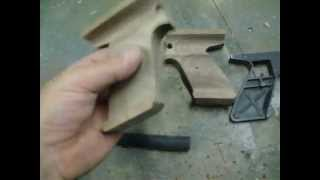 Part 2 Making Wood Grips For A Crosman Air Pistol