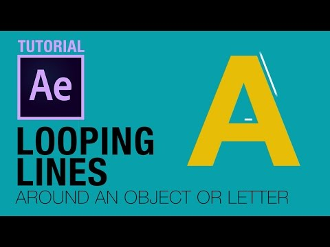 Looping Lines / Strokes After Effects Tutorial