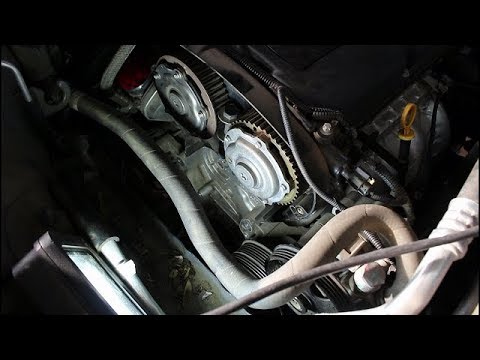 Замена ремня ГРМ и роликов на Chevrolet Cruze 1,8 Шевроле Круз 2015 года  1часть