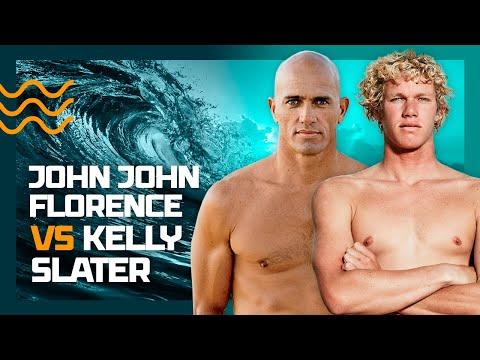 John John Florence e Kelly Slater no freesurf